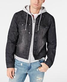 American Rag Men's Slate Gray Denim Jacket, Created for Macy's
