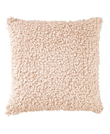 """CLOSEOUT! Pure Looped 18""""x18"""" Decorative Pillow"""