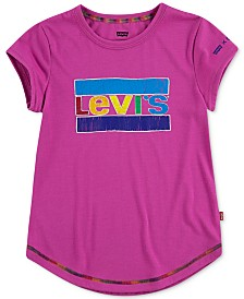 Levi's® Little Girls Logo-Print Crayola T-Shirt