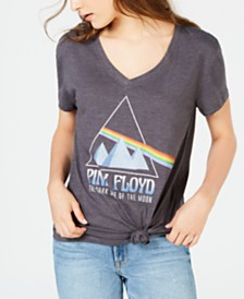 Freeze 24-7 Juniors' Pink Floyd Graphic T-Shirt