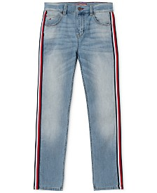 Tommy Hilfiger Big Boys Jensen Arc-Fit Stretch Taped Jeans