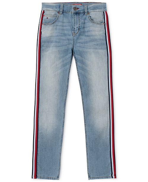 Tommy Hilfiger Toddler Boys Jensen Arc-Fit Stretch Taped Jeans