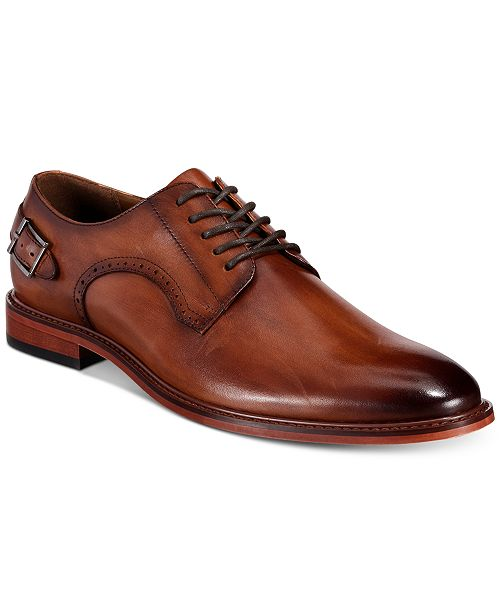 Bar III Sean Leather Lace-Up Oxfords, Created for Macy's