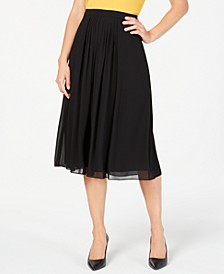 Georgette Pleated Skirt