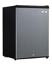 SPT 2.1 cubic feet Upright Freezer with Energy Star - Stainless Steel