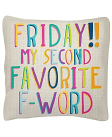 "Wit Gifts 18"" x 18"" Square Pillows"