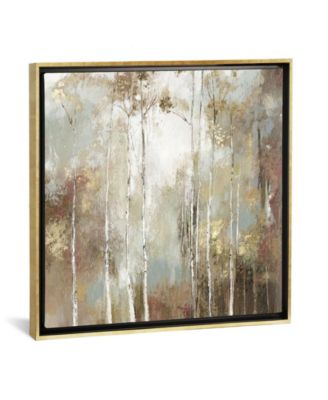 """Fine Birch I by Allison Pearce Gallery-Wrapped Canvas Print - 18"""" x 18"""" x 0.75"""""""