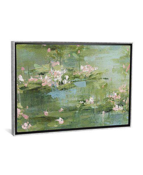 "iCanvas Celadon Waterlillies I by Carol Robinson Gallery-Wrapped Canvas Print - 18"" x 26"" x 0.75"""