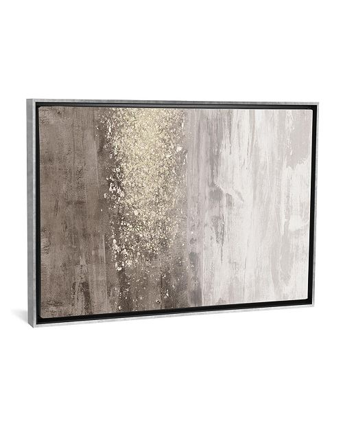 "iCanvas Glitter Rain Ii by Jennifer Goldberger Gallery-Wrapped Canvas Print - 18"" x 26"" x 0.75"""