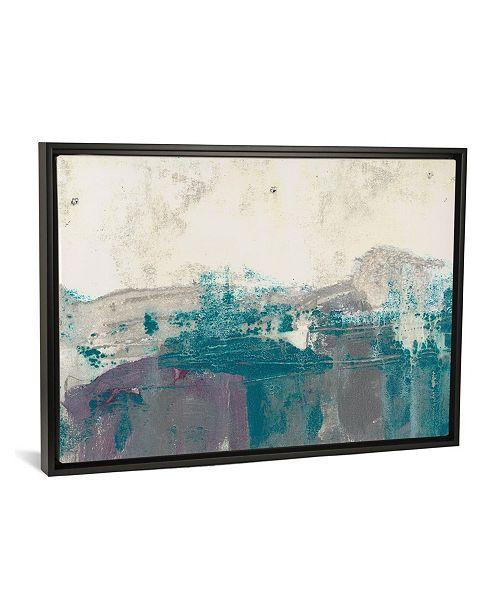 "iCanvas Teal Range I by Jennifer Goldberger Gallery-Wrapped Canvas Print - 18"" x 26"" x 0.75"""