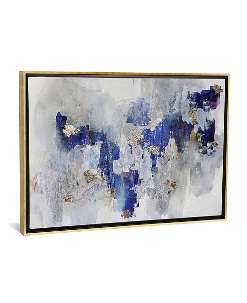 """iCanvas North Gold by Christine Olmstead Gallery-Wrapped Canvas Print - 18"""" x 26"""" x 0.75"""""""