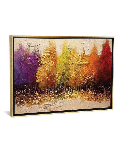 """iCanvas Five Seasons by Osnat Tzadok Gallery-Wrapped Canvas Print - 18"""" x 26"""" x 0.75"""""""