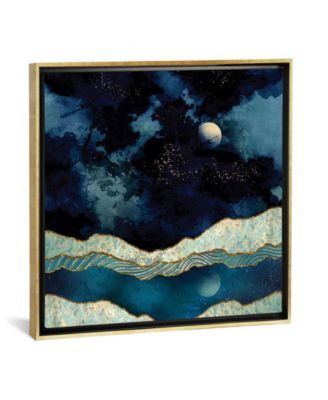 """Indigo Sky by Spacefrog Designs Gallery-Wrapped Canvas Print - 26"""" x 26"""" x 0.75"""""""