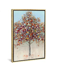 "iCanvas Confetti Tree by Sally Swatland Gallery-Wrapped Canvas Print - 40"" x 26"" x 0.75"""