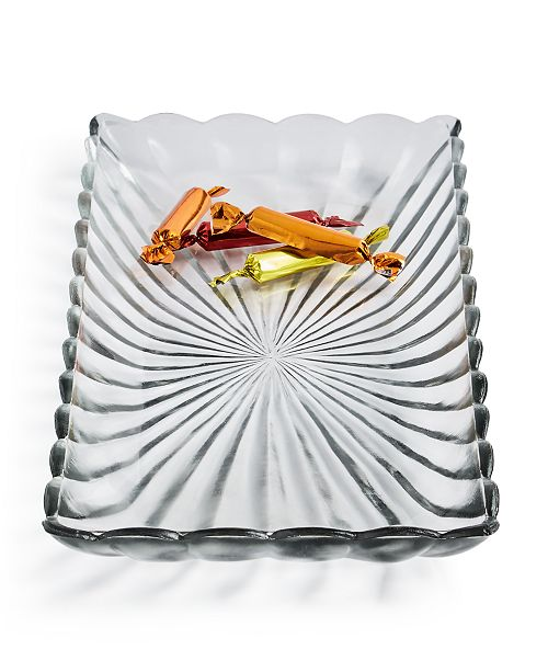 Martha Stewart Collection Glass Platter, Created For Macy's