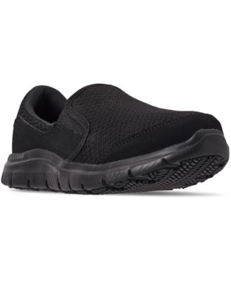 skechers slip resistant relaxed fit memory foam