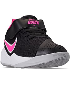 Little Girls' Team Hustle Quick 2 Basketball Sneakers from Finish Line
