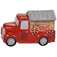 Harvest Bounty Truck 3-D Cookie Jar