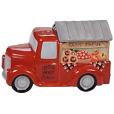 Certified International Harvest Bounty Truck 3-D Cookie Jar