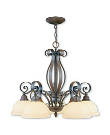 CLOSEOUT!   Manchester 5-Light Chandelier