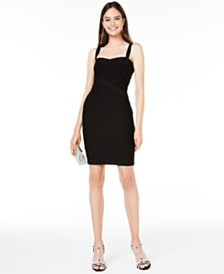 bebe Juniors' Bandage Dress
