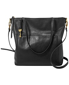 Evelyn Leather Tote