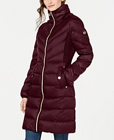 Petite Down Hooded Puffer Coat, Created For Macy's