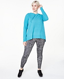 Plus Size Cashmere Thermal Hoodie, Created For Macy's