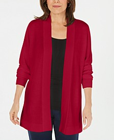 Open-Front Long-Sleeve Cardigan, Created for Macy's
