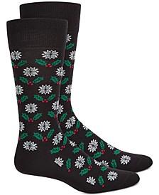 Men's Mistletoe Socks, Created for Macy's