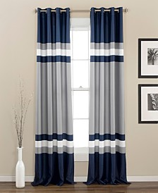 "Alexander Stripe 84""x52"" Window Curtain Set"