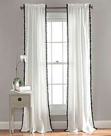 Pom Pom Trim Curtain Collection
