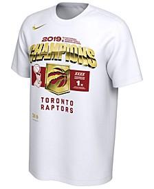 Big Boys Toronto Raptors 2019 Champ Locker Room T-Shirt
