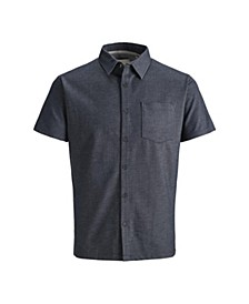 Men's Jack & Jones Men's Summer Polo full button Shirt with contrast details