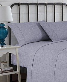 Hudson Main Modern Space-Dyed Queen Sheet Set