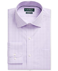 ef7c3eaa Lauren Ralph Lauren Mens Dress Shirts - Macy's