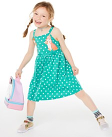 Epic Threads Toddler Girls Dot-Print Bird Dress, Created for Macy's