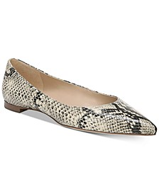Sally Pointed-Toe Flats