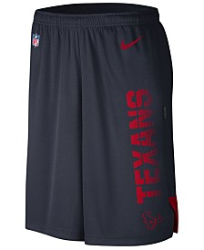 Nike Men's Houston Texans Player Knit Breathe Shorts
