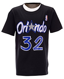 Big Boys Shaquille O'Neal Orlando Magic Hardwood Classic Player T-Shirt