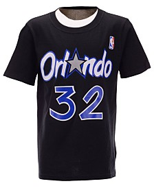 Mitchell & Ness Big Boys Shaquille O'Neal Orlando Magic Hardwood Classic Player T-Shirt
