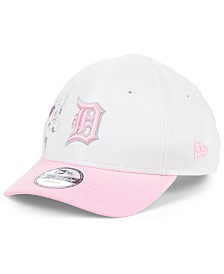 New Era Toddlers & Little Girls Detroit Tigers Minnie Heart 9FORTY Adjustable Cap
