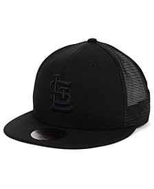 St. Louis Cardinals Blackout Meshback 59FIFTY-FITTED Cap