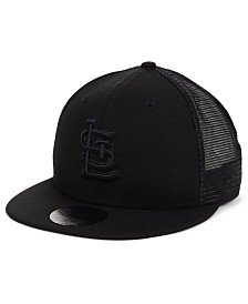 New Era St. Louis Cardinals Blackout Meshback 59FIFTY-FITTED Cap