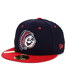 Peoria Chiefs MiLB 100TH Anniversary Patch 59FIFTY-FITTED Cap