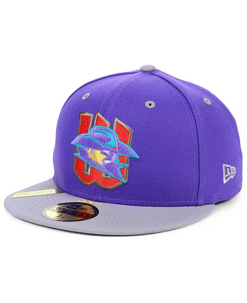 New Era Wichita Wranglers MiLB 100TH Anniversary Patch 59FIFTY-FITTED Cap
