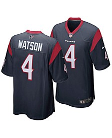 Men's DeShaun Watson Houston Texans Game Jersey