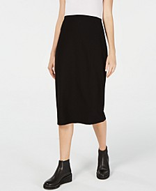 Slim Midi Skirt, Regular &