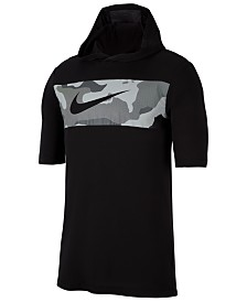 Nike Men's Dri-FIT Colorblocked Camo Hoodie