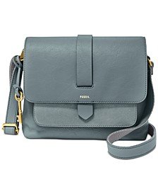 Kinley Leather & Suede Small Crossbody